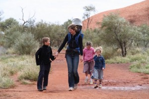 family kids travelling
