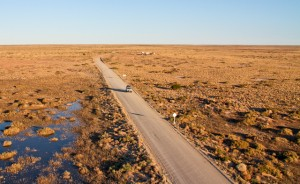 Our ride across Lake Eyre and the Birdsville track